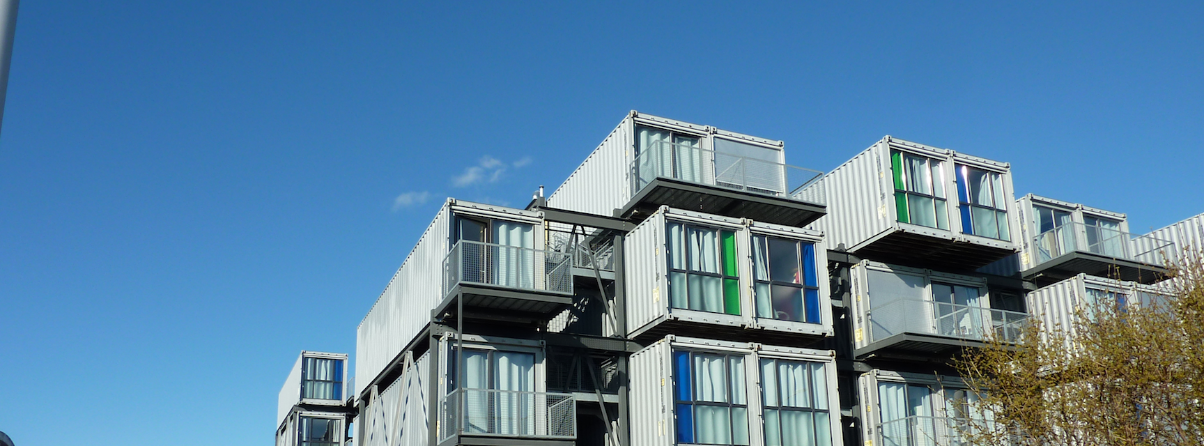 Le Havre - Shipping Container Student Accommodation @ 49 Quai de la Saône