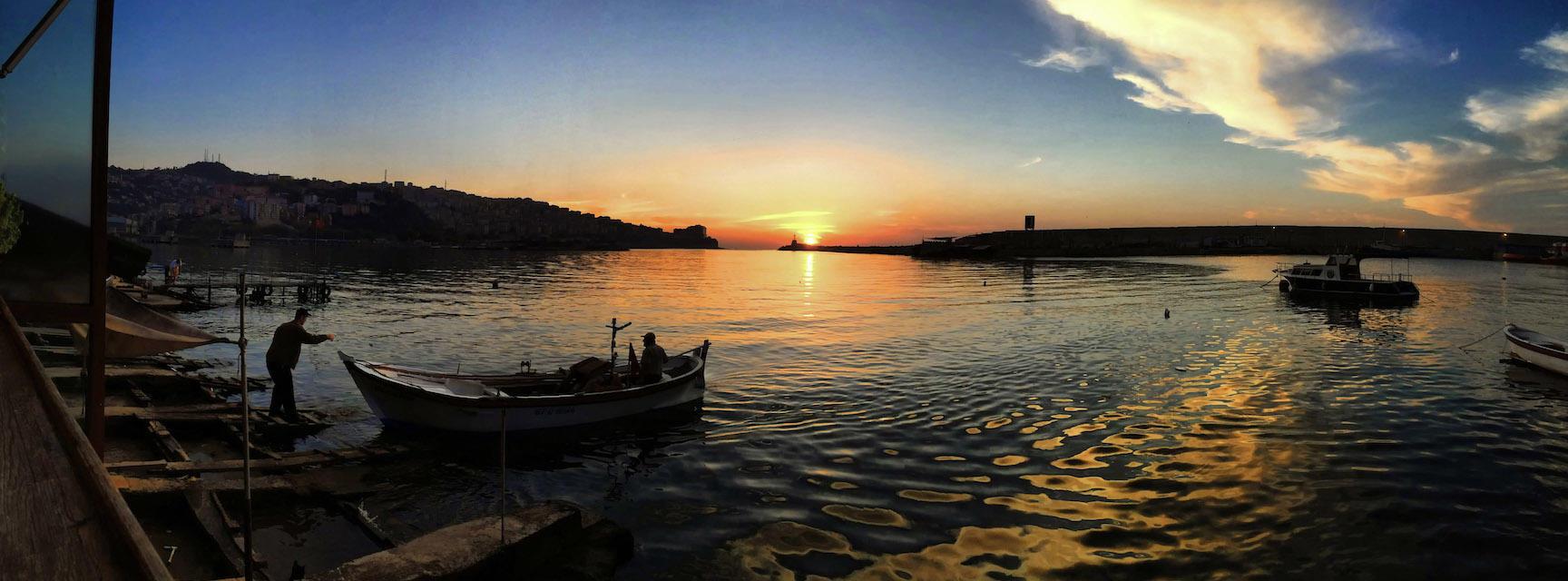 zonguldak  fishing at dawn